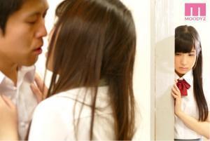 幼なじみと中出しSEXの練習をする栄川乃亜のAV動画の画像