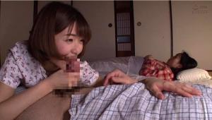 妻の妹川上奈々美と何度もSEXした6日間のAV動画のフェラチオ画像
