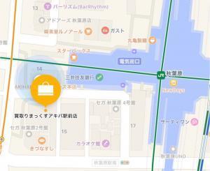 買取りまっくすアキバ駅前店の地図の画像