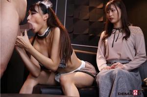 美谷朱里、蓮実クレア、岬あずさのAV動画の画像
