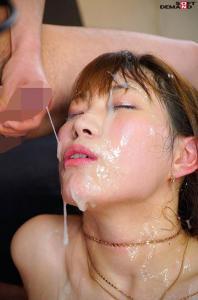 美谷朱里のぶっかけAV動画の画像