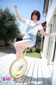 性欲の強い方言美少女石原希望にナマ中出しするAV動画の一輪車画像