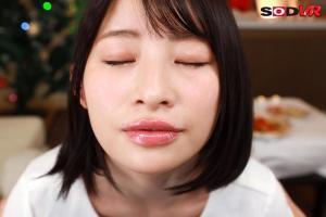 宮島めいとラブラブ濃厚な聖夜を送るAV動画のキスの無料サンプル画像